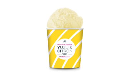 GLACE PLANET CITRON YUZU