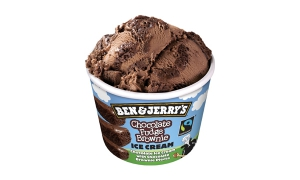 BEN ET JERRY'S CHOCO FUDGE BROWNIE